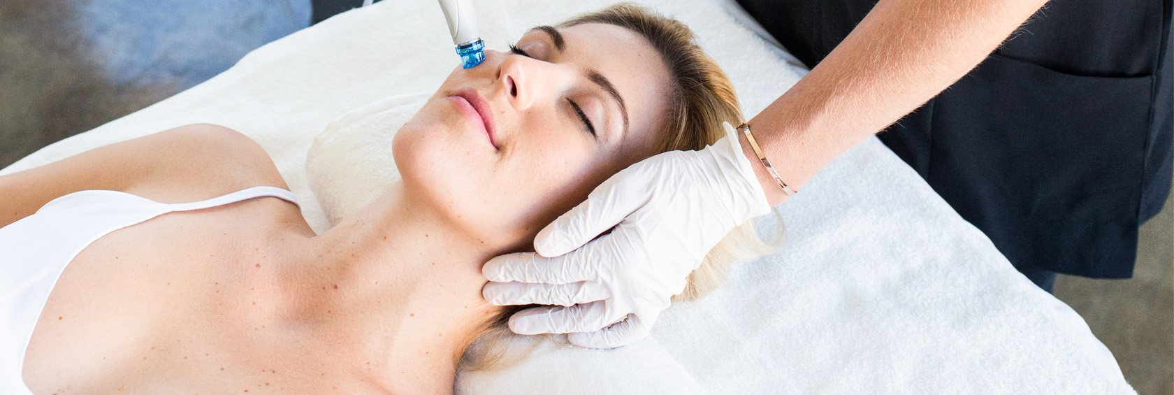 THE HYDRAFACIAL Header Graphic