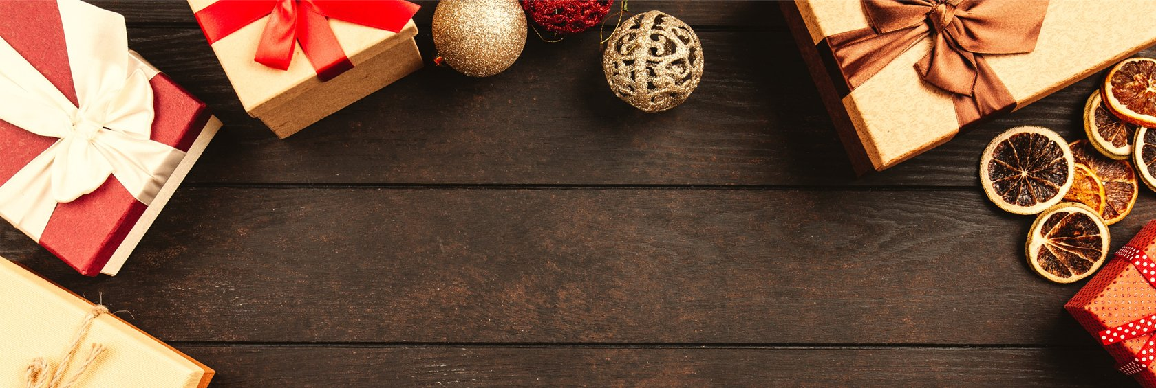 Holiday Gift Card Sale Header Graphic